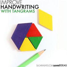 Tangrams and Visual Perception in Handwriting