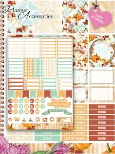 Sticker - 101 Stickers - ECLP Vertikal Wochen Kit SET020 - ein Designerstück von…