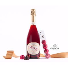 Fizz 56 and Godiva Cherry Cordials Gift Set from Wine.com one of our fine retailers!