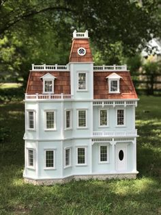 Dollhouse Kits, Dollhouse Miniatures, Bird Houses, Doll Houses, Mini Things, Miniature Houses, Small World, Dollhouse Furniture, Design Projects