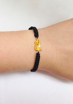 A personal favorite from my Etsy shop https://www.etsy.com/listing/192311371/cute-kids-braceletcute-cat-charm