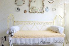 Biljana Shabby Antique Iron Beds, Shabby Chic Furniture, French Antiques, Toddler Bed, Home Decor, Child Bed, Decoration Home, Room Decor, Home Interior Design