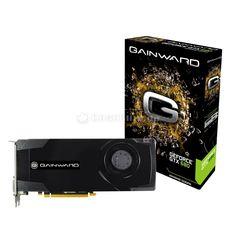 Gainward GeForce GTX 680, 2048 MB DDR5, PCIe 3.0, DP, HDMI, DVI.    Technische Basis für so brachiale Leistung sind 3,54 Milliarden Transistoren auf dem in 28 nm gefertigten Die, 1.536 Shader-Einheiten (dreimal so viele wie bei der GTX 580) und sehr hohe Referenz-Taktraten. So arbeiten die GK104-GPU und die Shader auf der GTX 680 mit 1.006 MHz und der 2.048 MB große und über 256 Bit angebundene GDDR5-Speicher mit 3.004 (effektiv 6.008) MHz.