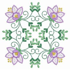 Jacobean, Real Flowers, Quilt Blocks, Past, Quilts, Vintage, Scrappy Quilts, Needlepoint, Past Tense