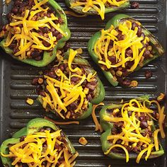 Grilled Tex-Mex Stuffed Peppers - The Pampered Chef®