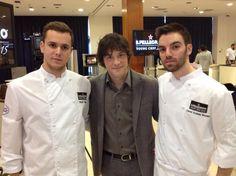 David Andrés, mano derecha de @JordiCruzMas en @ABaC_Barcelona premiado como mejor chef joven de España #SPYoungChef