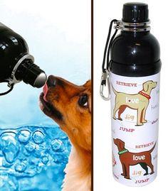 Present Finder, Pet Water Bottle, Love Design, Dog Walking, Puppy Love, Your Dog, Puppies, Pets, Cubs