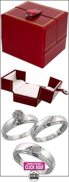 Revoni - Alianza de oro blanco  ✿ Joyas para hombres especiales - lujo ✿ ▬► Ver oferta: http://comprar.io/goto/B005NW2Q9I