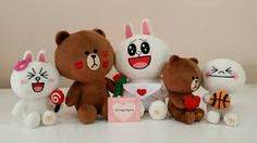 Image result for line plush doll