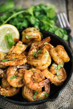 Add smoky heat to protein-packed shrimp with this Cajun-style dish!
