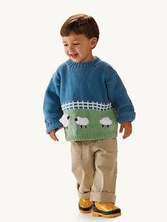 Fluffy Sheep Sweater   FREE PATTERN
