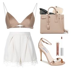 """""""Night Out"""" by kimberlylequay on Polyvore featuring Ray-Ban, Yves Saint Laurent, T By Alexander Wang, Zimmermann and Steve Madden"""