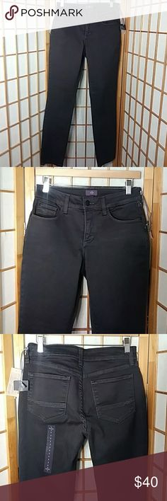 NYDJ black legging jeans New with some tags in good clean condition, lift tuck technology jeans NYDJ Jeans