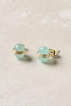 Strand Wrapped earrings from Anthropologie