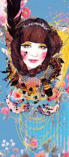 Juxtapoz Magazine - The Vibrant Work of Jessica Singh