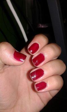 Esmalte rojo vivo!!! .