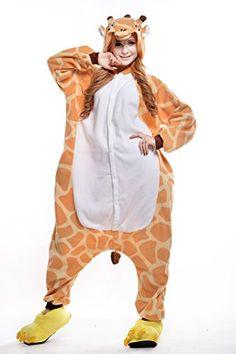 Sunrise Adult Giraffe Onesie Costume Kigurumi Pajamas (Small ee65819ed
