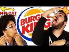 Fast Food Burger Taste Test - YouTube