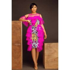 We have collected twenty beautiful African Ankara dresses that are trending online now to inspire your next design. Ankara Gown Styles, Ankara Gowns, Latest Ankara Styles, Ankara Dress, Dinner Gowns, African Dresses For Women, African Clothes, African Attire, African Fashion