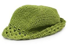 Ein unverzichtbares Accessoire im Sommer - der gehäkelte Bast-Hut. Dieser Hut wird aus reinem Naturbast gehäkelt und darf auch mal nass werden.