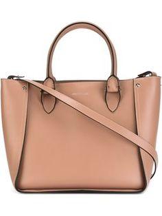 Bolsa tote de couro modelo 'Inside Out Shopper'