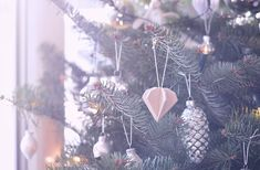 Rotkehlchen: DIY: Wooden Christmas Ornaments // This year´s tree!