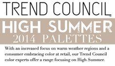 S/S 2014, summer color report header