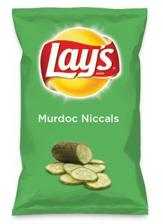 Murdoc flavored chips
