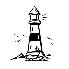Lighthouse clipart bible - pin to your gallery. Explore what was found for the lighthouse clipart bible Coloring Pages For Kids, Coloring Books, Lighthouse Clipart, Lighthouse Drawing, Free Clipart Images, Art Clipart, Vector Art, Sand Crafts, Silhouette Cameo Projects