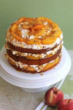 Peach Cobbler Shortcake Cake