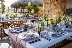 Sunny Beach Affair in Los Cabos   Event Design by Marianna Idirin  See more details of the event:   #eventdesign  #mariannaidirin  #celebration  #eventplanner #weddingplanner #weddingdesign  #cabo  #cabosanlucas  #mexico  #baja  #love #decor #details #weddinginspiration  #wedspiration #cabowedding #destinationwedding #loscaboswedding #caboweddingplanner #beachevent #eventdecor #yellow