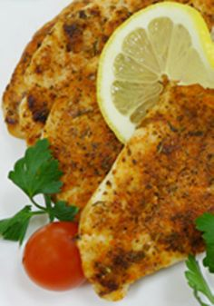 Spiced Lemonade-Rub Chicken Breasts — Add this chicken breast recipe to your list of easy weeknight entrees! Lemonade mix and an array of spices make for a tasty chicken dish in 20 minutes.