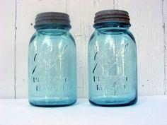 Mason jars...