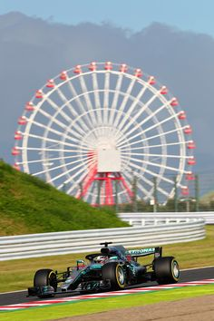 Lewis Hamilton Photos - Lewis Hamilton of Great Britain driving the (44) Mercedes AMG Petronas F1 Team Mercedes WO9 on track during qualifying for the Formula One Grand Prix of Japan at Suzuka Circuit on October 6, 2018 in Suzuka. - Lewis Hamilton Photos - 11 of 34042 Street Racing Cars, F1 Racing, Hamilton Wallpaper, Commercial Van, Amg Petronas, Black Aesthetic Wallpaper, Mercedes Benz Amg, Lewis Hamilton, Formula One