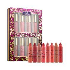 Tarte's Pure Delights 8-Piece Lip Set ($34) @tarte cosmetics
