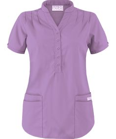 Butter-Soft Scrubs by UA™ Mandarin Collar Top Buy Scrubs, Scrubs Pattern, Scrubs Uniform, Medical Scrubs, Nursing Clothes, Peeling, Scrub Tops, Mandarin Collar, Work Attire
