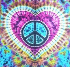 Tie Dye Peace
