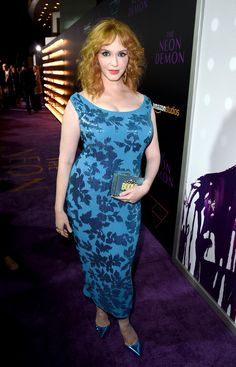 Christina Hendricks Photos - Premiere of Amazon's 'The Neon Demon' - Red Carpet - Zimbio