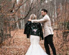 Customize your wedding 💒! Painting Leather, Boho Bride, I Can, Grateful, Bridal Jackets, Amazing, Day, Projects, Life