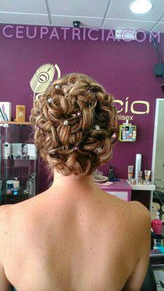Peinado de novia. Precioso!