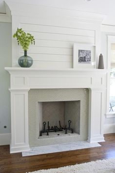fireplace makeover Caitlin Creer Interiors