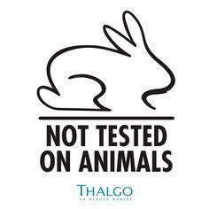 Thalgo ürünleri hayvanlar üzerinden test edilmez!