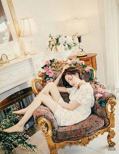 white eyelet #dress :: Kim Go Eun