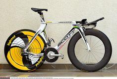2009 Scott TT HTC team bike
