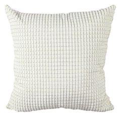 Super Soft Faux Fur Empress Large Square Cushion Cover Reversib.. . Cream