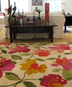 """India Love"" designer rug from the Kim Parker Home collection"