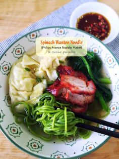 Cuisine Paradise | Singapore Food Blog | Recipes, Reviews And Travel: [3 recipes] Homemade Asian Noodle using Philips Noodle Maker (HR2365/05)