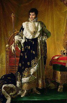 Portrait du roi Jérôme par François Gérard (1811).