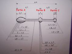 Paper bobbin dimensions.