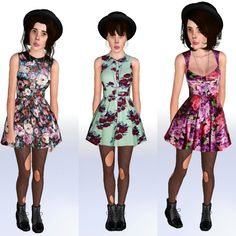 My Sims 3 Blog: 3 Spring Fling Dresses by Ilikeyourfacesims